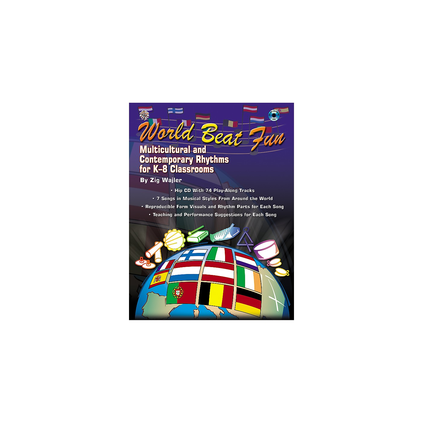 Alfred World Beat Fun Book/CD thumbnail