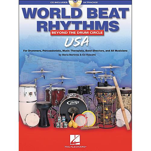 Hal Leonard World Beat Rhythms - U.S.A. (Book/CD) thumbnail