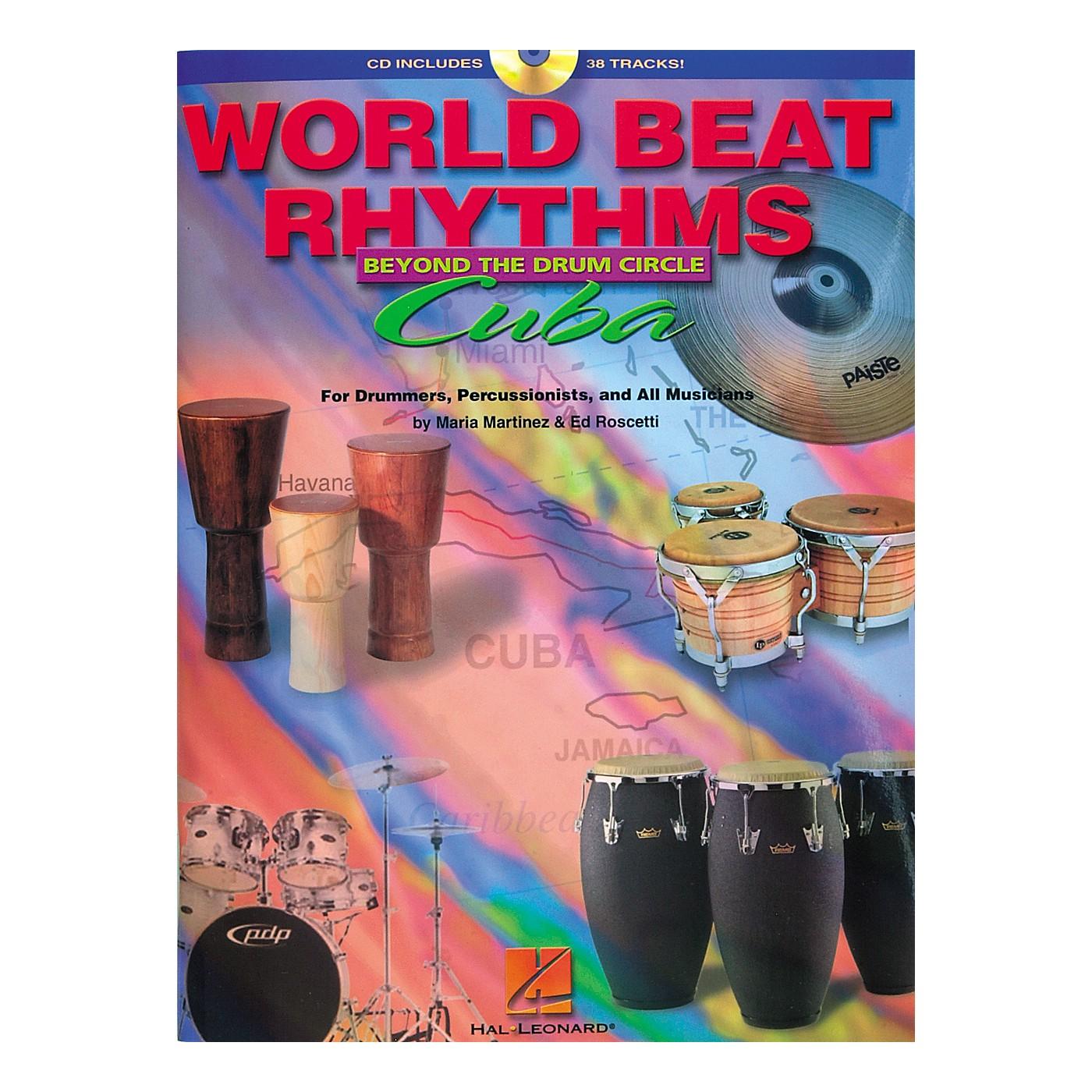 Hal Leonard World Beat Rhythms Beyond The Drum Circle - Cuba (Book/CD) thumbnail