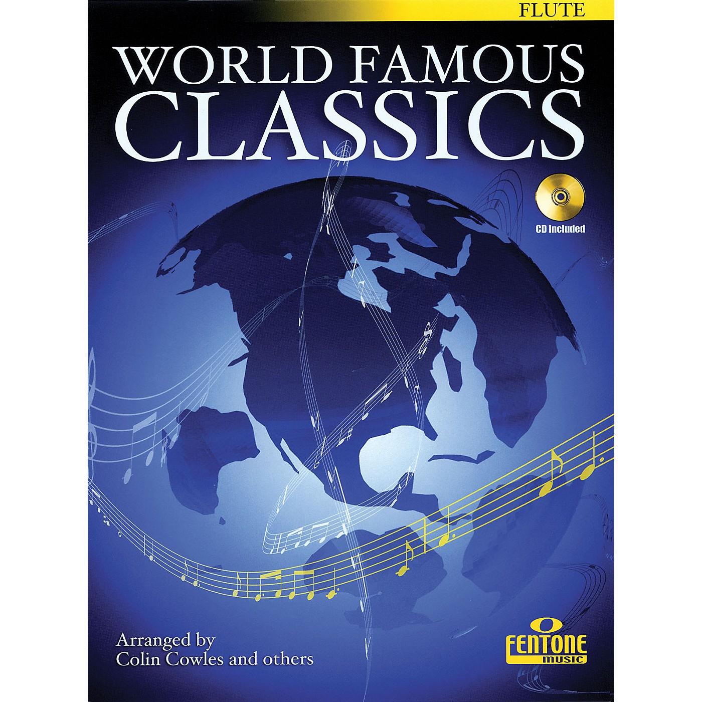 Fentone World Famous Classics (Alto Sax) Fentone Instrumental Books Series Book with CD thumbnail