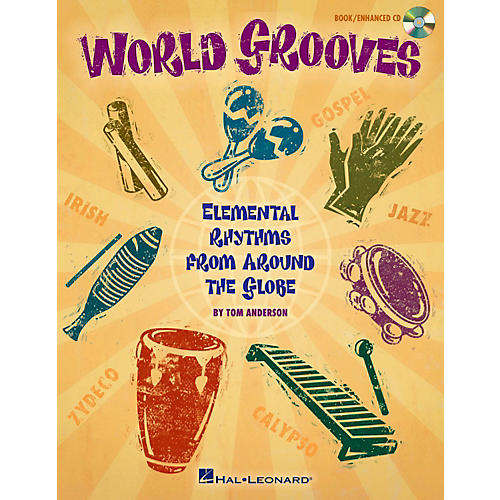 Hal Leonard World Grooves - Elemental Rhythms From Around the Globe Book/CD thumbnail