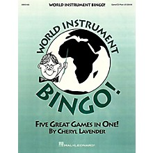 Hal Leonard World Instrument Bingo! (Game/CD)
