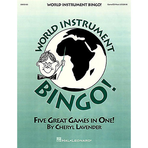 Hal Leonard World Instrument Bingo! (Game/CD) thumbnail