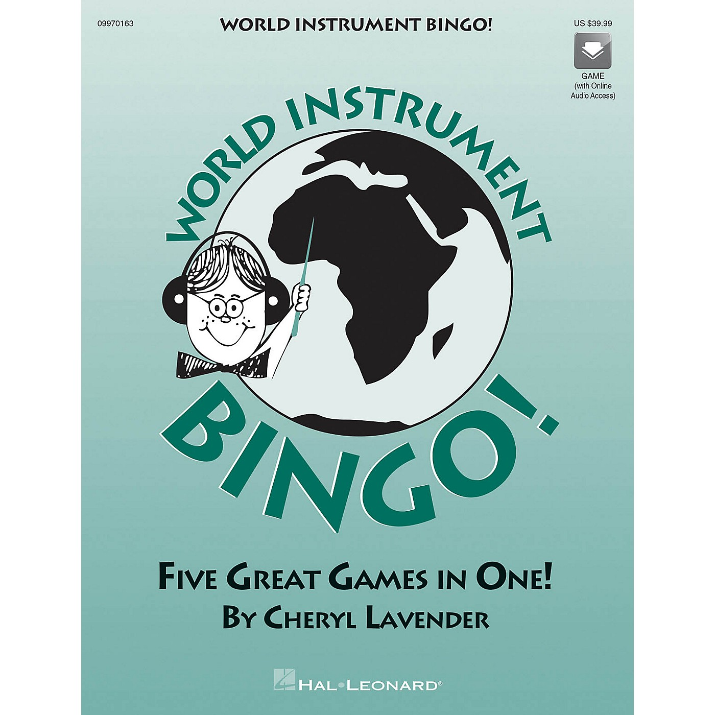 Hal Leonard World Instrument Bingo (Game) (Replacement CD) CD Composed by Cheryl Lavender thumbnail