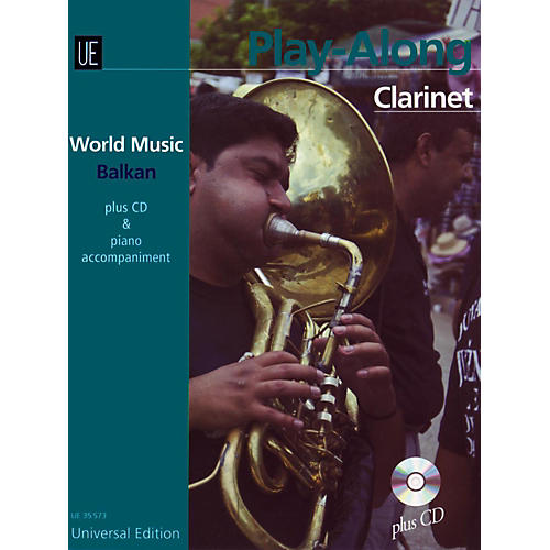 Carl Fischer World Music - Balkan Play Along Clarinet thumbnail