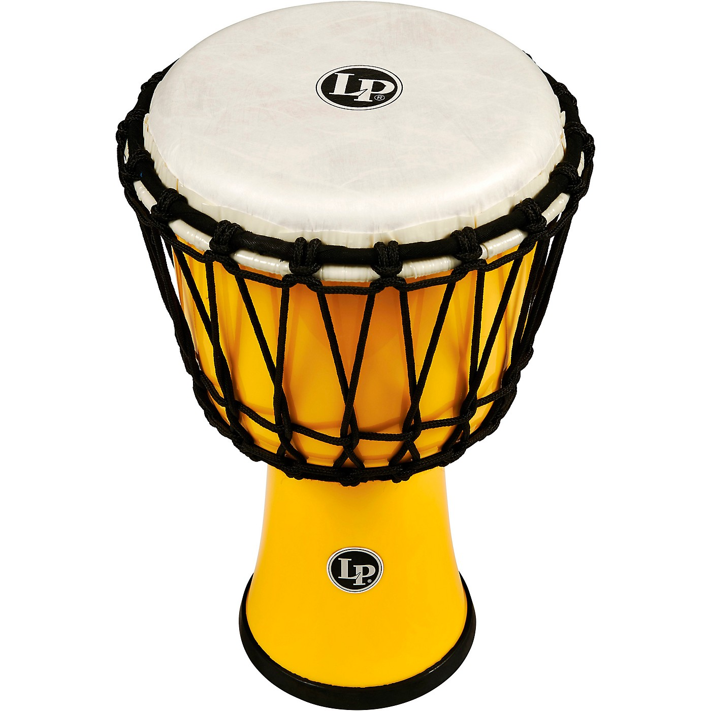 Lp Yellow World Rope-tuned Circle Djembe  7 In