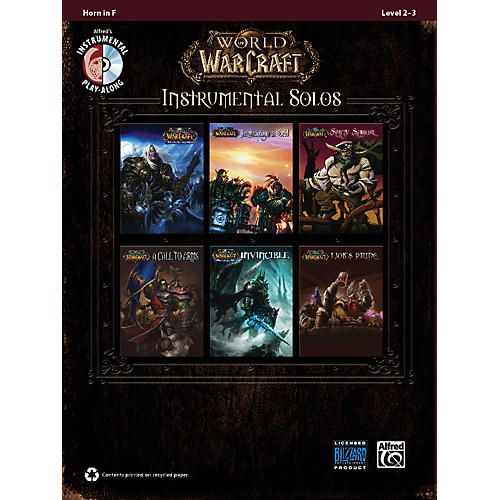 Alfred World of Warcraft Instrumental Solos Horn in F Book & CD thumbnail