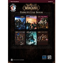 Alfred World of Warcraft Instrumental Solos Tenor Sax Book & CD