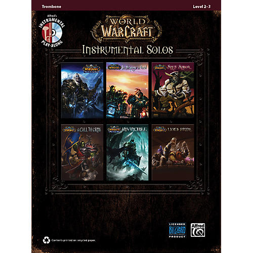 Alfred World of Warcraft Instrumental Solos Trombone Book & CD thumbnail