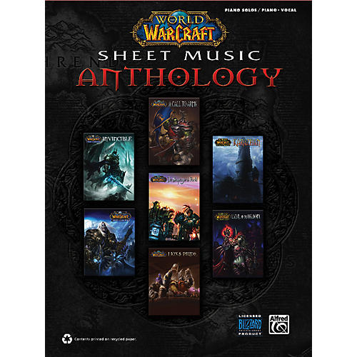 Alfred World of Warcraft Sheet Music Anthology thumbnail