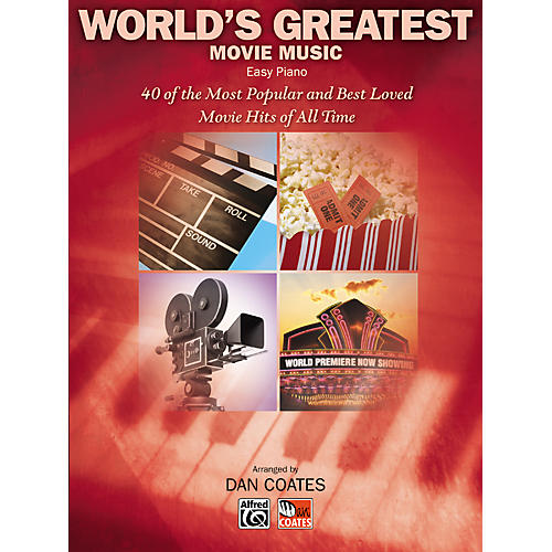 Alfred World's Greatest Movie Music Easy Piano thumbnail