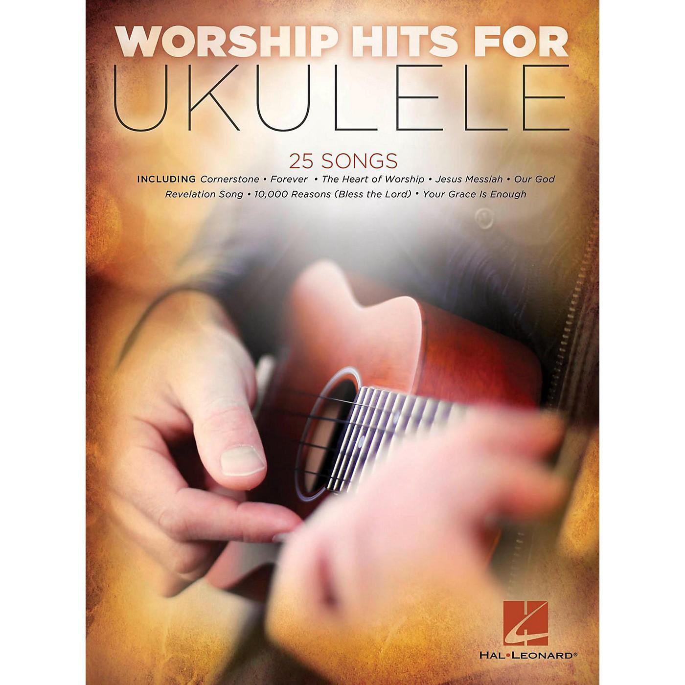 Hal Leonard Worship Hits For Ukulele thumbnail