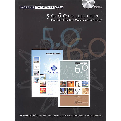 Worship Together Worship Together Songbook 5.0-6.0 Sacred Folio Series Softcover with disk Performed by Various thumbnail