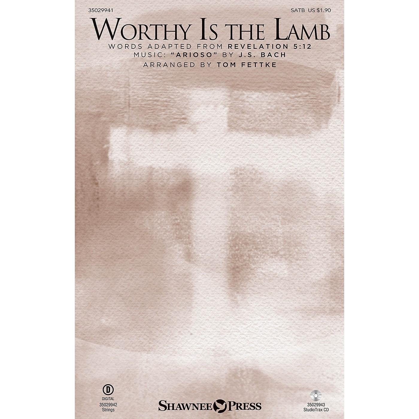 Shawnee Press Worthy Is the Lamb SATB arranged by Tom Fettke thumbnail
