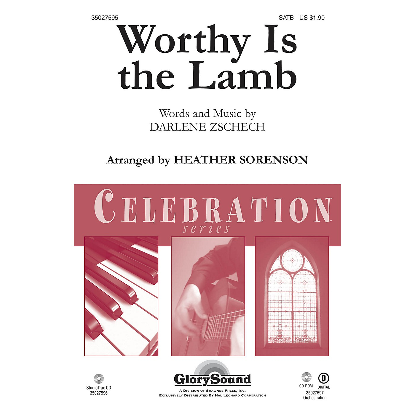 Shawnee Press Worthy Is the Lamb Studiotrax CD Arranged by Heather Sorenson thumbnail