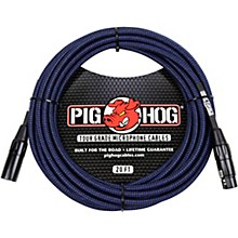 Pig Hog Woven XLR Mic Cable