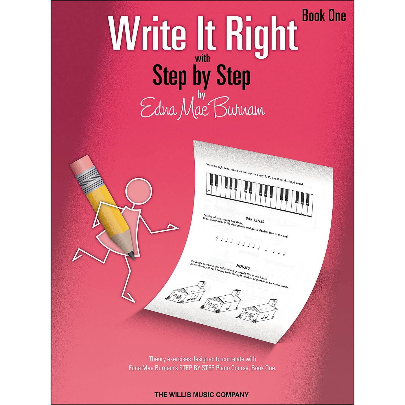 Willis Music Write It Right - Book 1 thumbnail