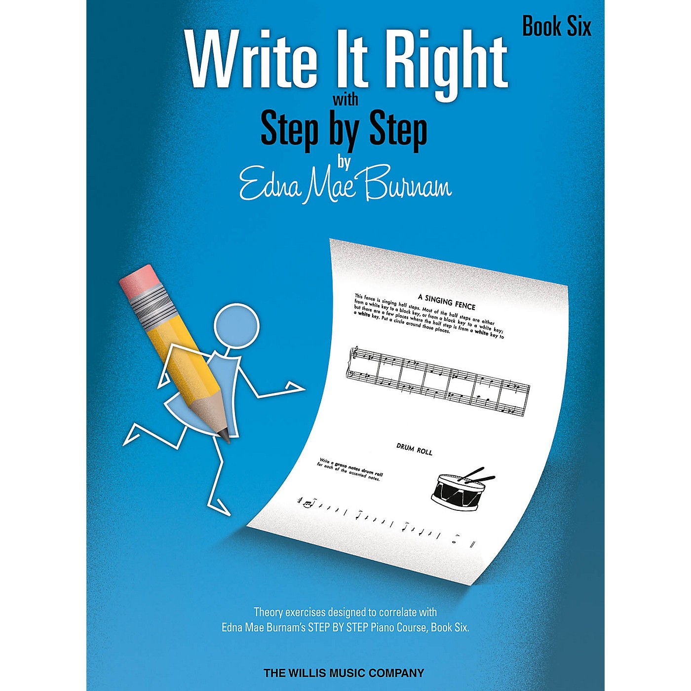 Willis Music Write It Right - Book 6 Willis Series by Edna Mae Burnam (Level Inter) thumbnail