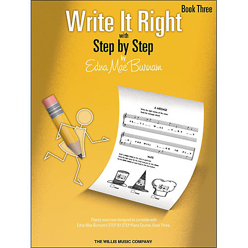 Willis Music Write It Right Book 3 thumbnail
