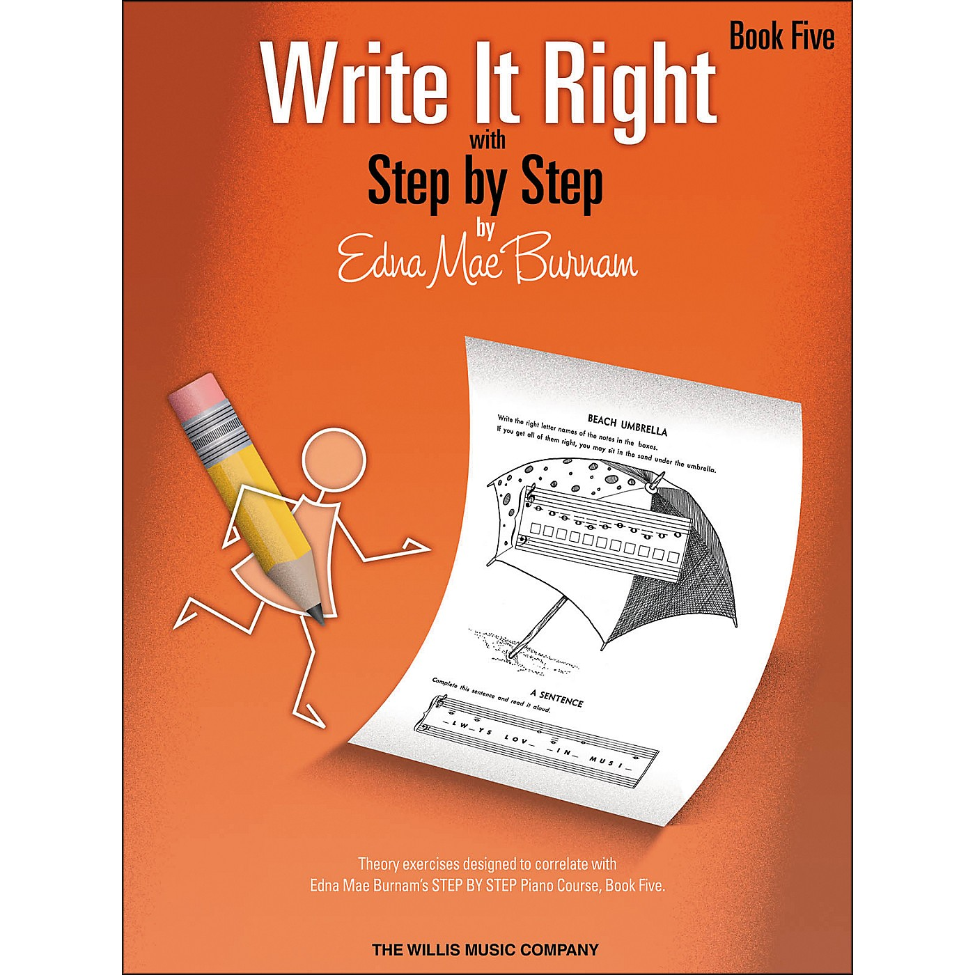 Willis Music Write It Right Book 5 thumbnail