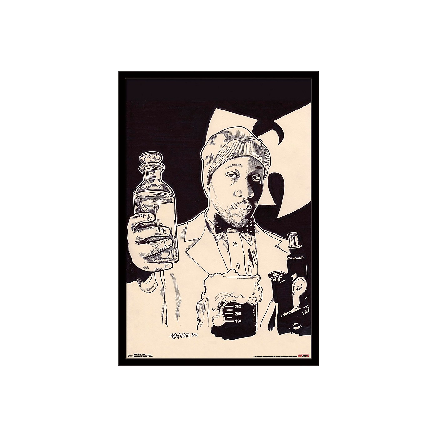 Trends International Wu-Tang Clan - Illustrated Poster thumbnail