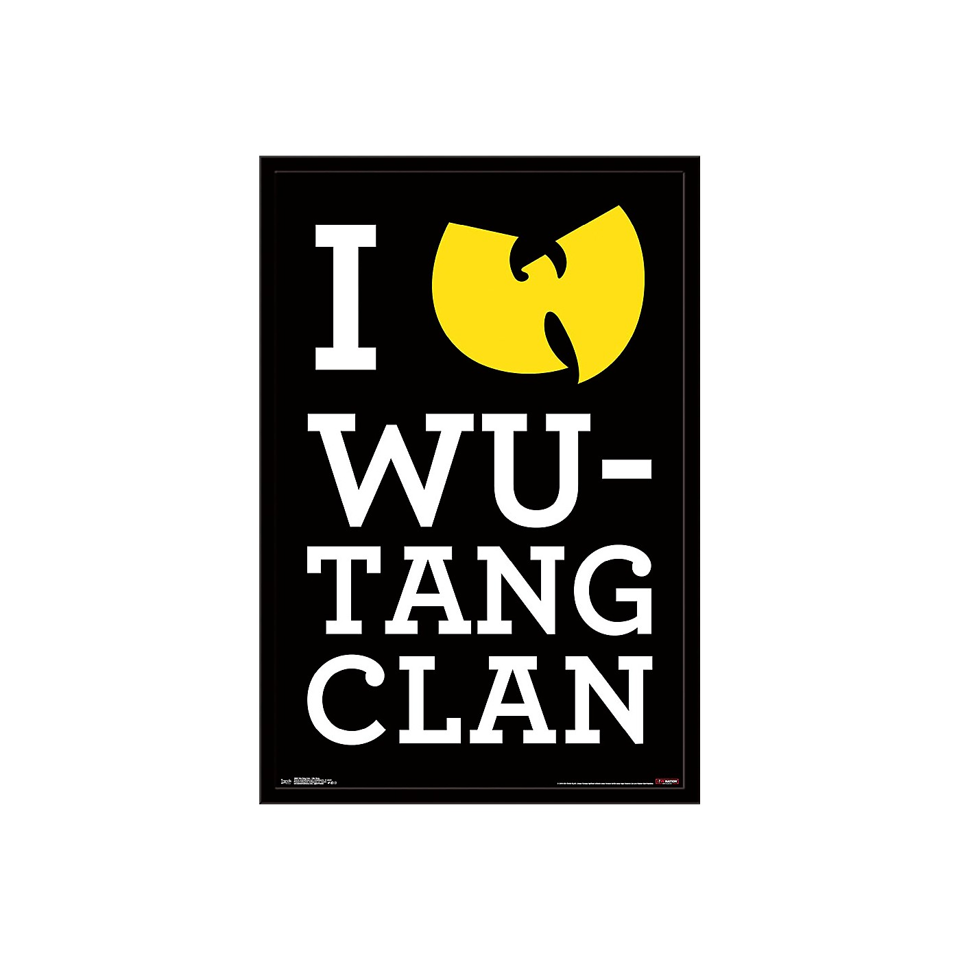Trends International Wu-Tang Clan - Wu-Tang Poster thumbnail