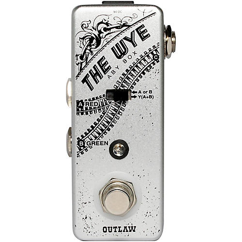 Outlaw Effects Wye ABY Switcher Pedal thumbnail