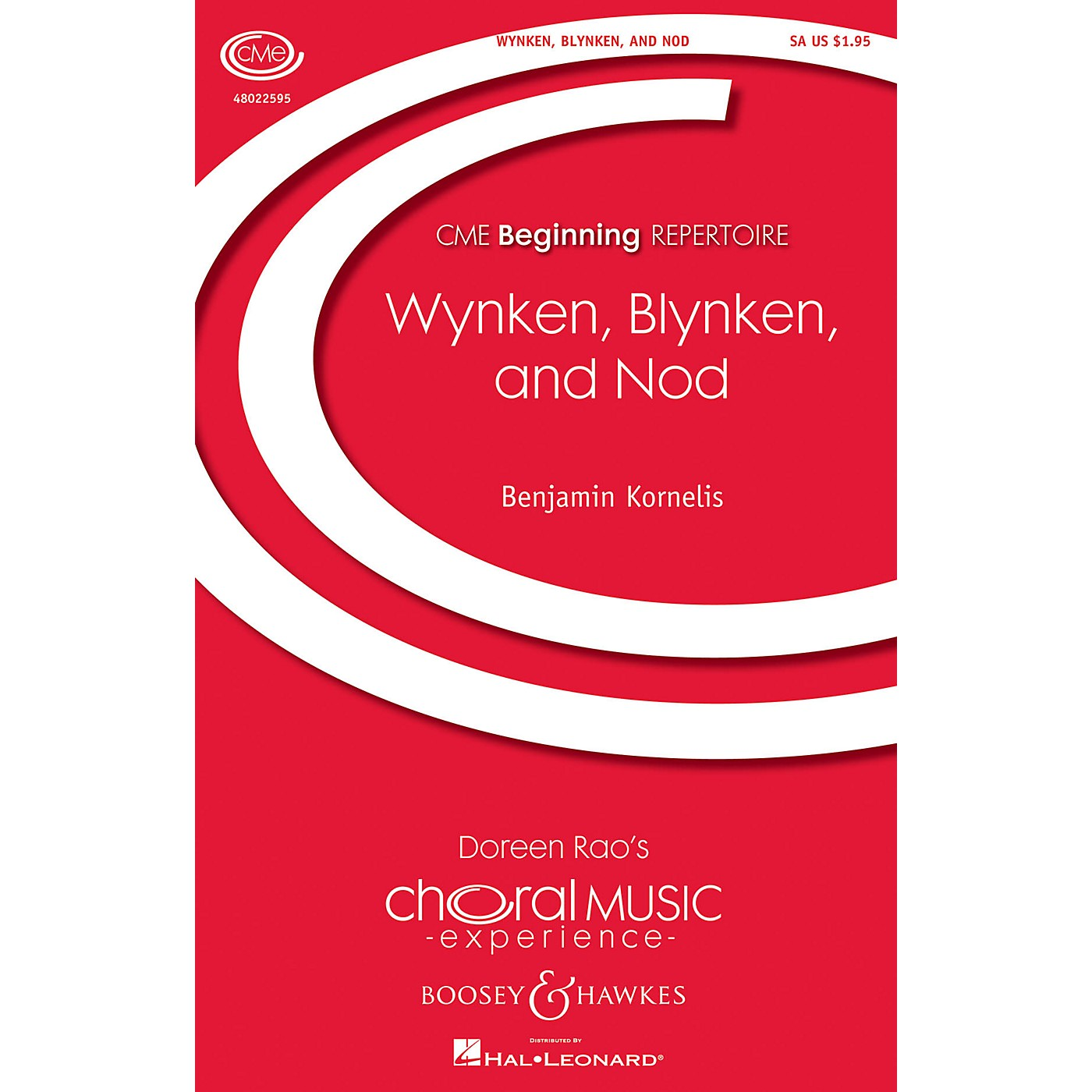 Boosey and Hawkes Wynken, Blynken, and Nod (CME Beginning) SA composed by Benjamin Kornelis thumbnail