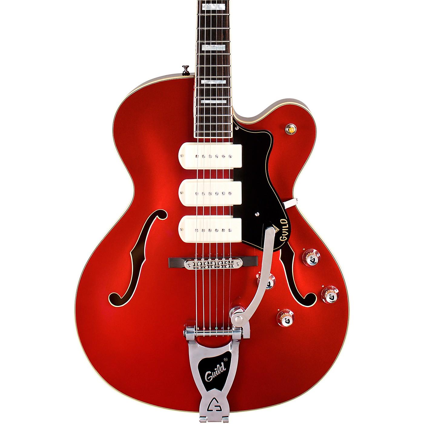 Guild X-350 Stratford Hollow Body Electric Guitar thumbnail