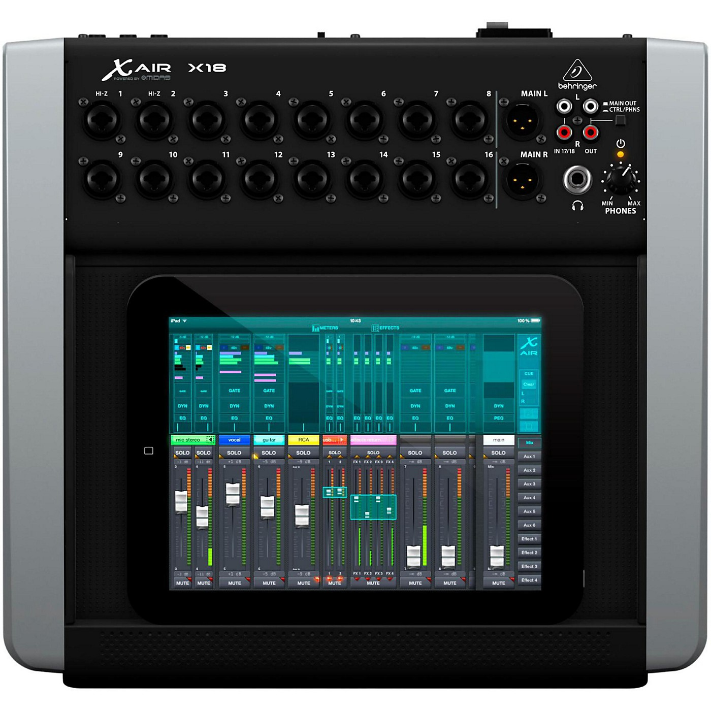 Behringer X AIR X18 Digital Desktop Mixer thumbnail