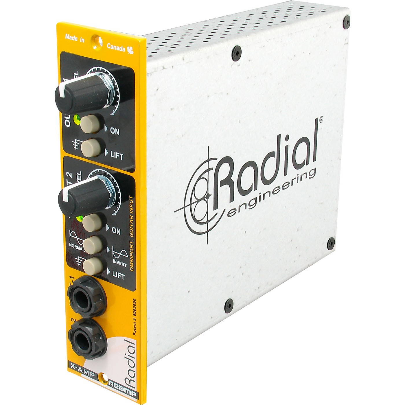 Radial Engineering X-Amp 500 Reamp thumbnail