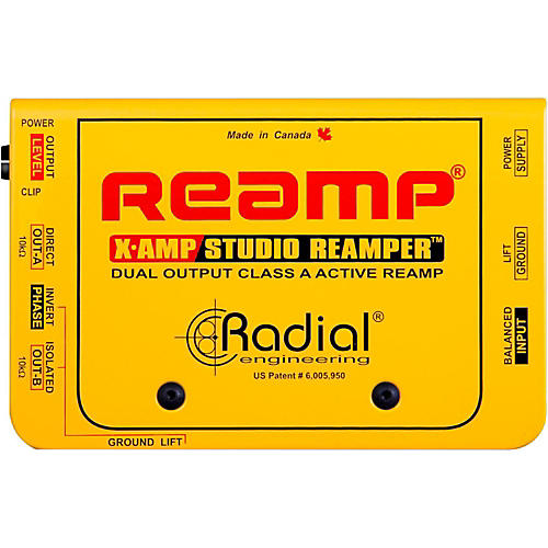 Radial Engineering X-Amp Active Reamplifier thumbnail