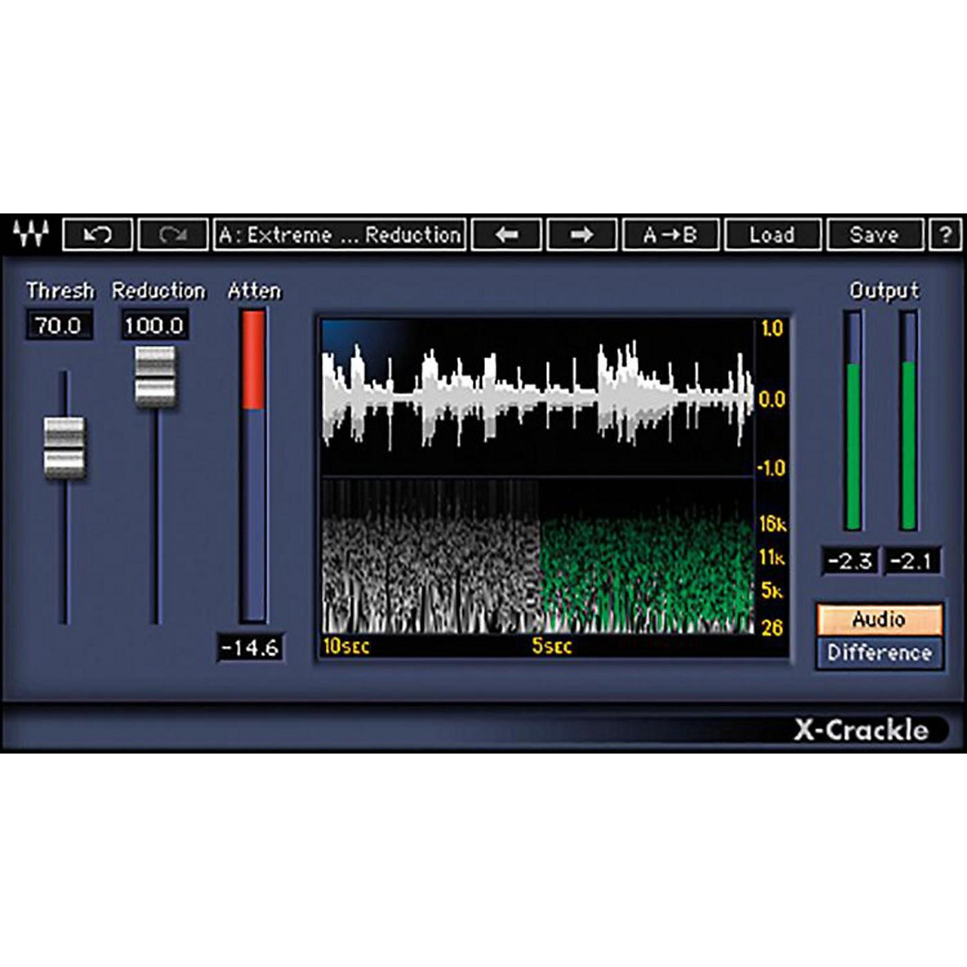 Waves X-Crackle Native/TDM/SG Software Download thumbnail