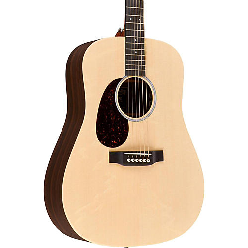 Martin X Series DX1RAE-L Dreadnought Left-Handed Acoustic-Electric Guitar thumbnail