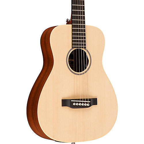 Martin X Series LX1E Little Martin Left-Handed Acoustic-Electric Guitar thumbnail