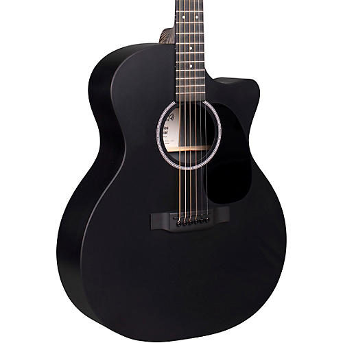 Martin X Series Style Special GPC Black HPL Acoustic-Electric Guitar thumbnail