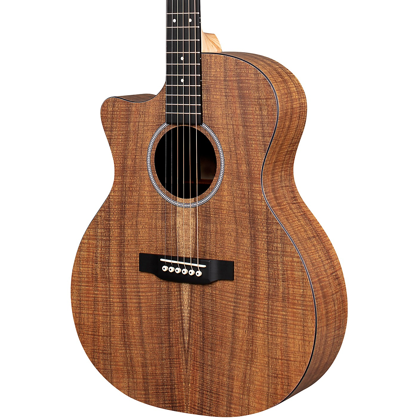 Martin X Series Style Special GPC KOA HPL Left-Handed Acoustic Electric guitar thumbnail