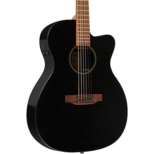 Martin X Series X-000CEBK Custom Cutaway Acoustic-Electric Guitar with HPL Top thumbnail