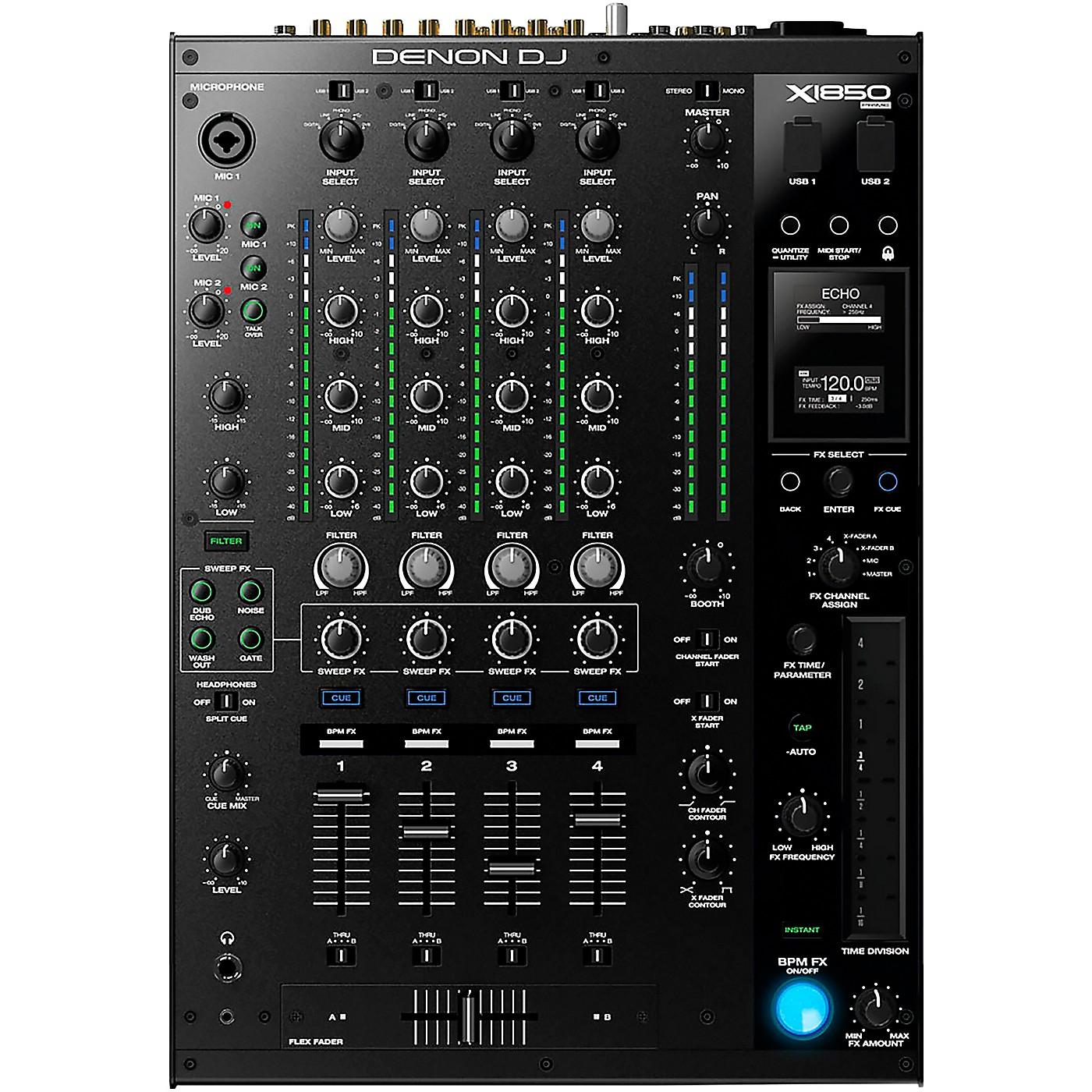 Denon DJ X1850 Prime 4-Channel Club Mixer thumbnail