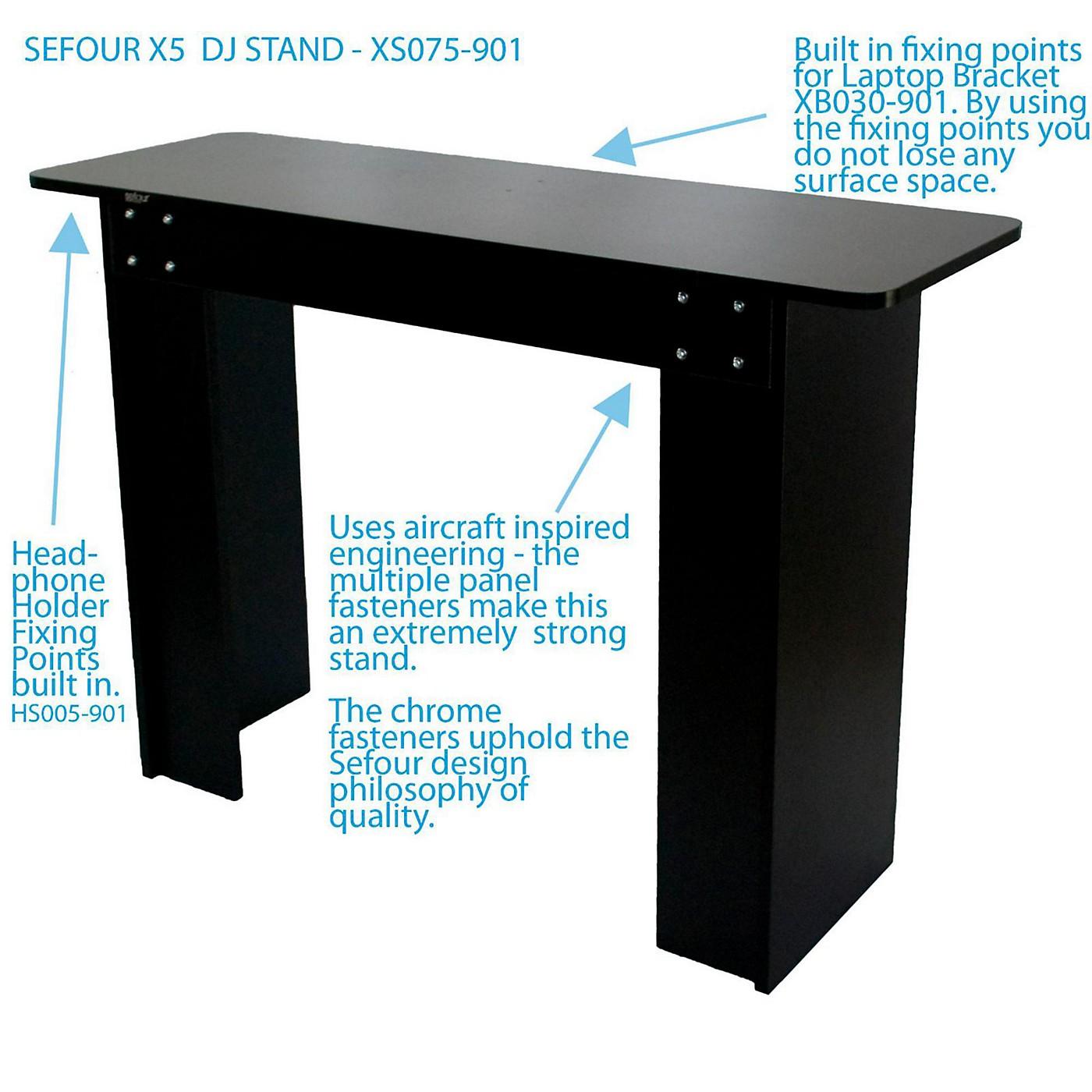 Sefour X5 DJ Stand thumbnail