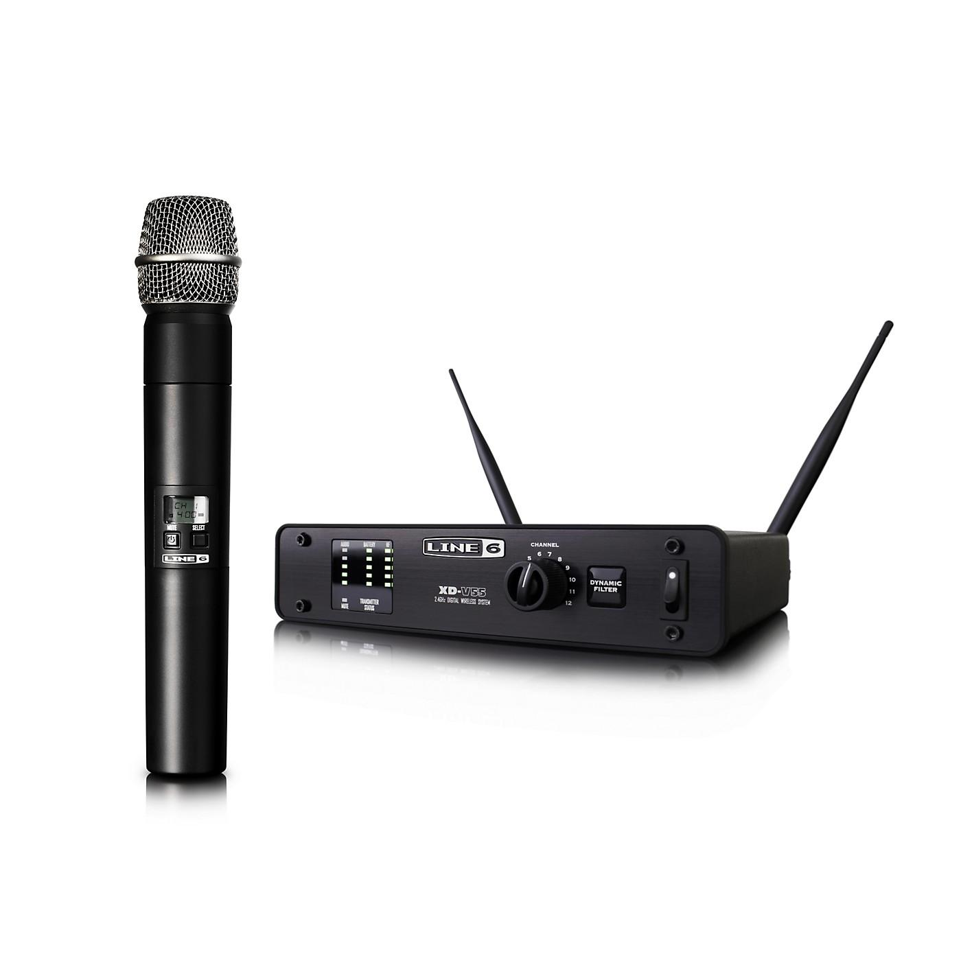 Line 6 XD-V55 Digital Wireless Handheld Microphone System thumbnail