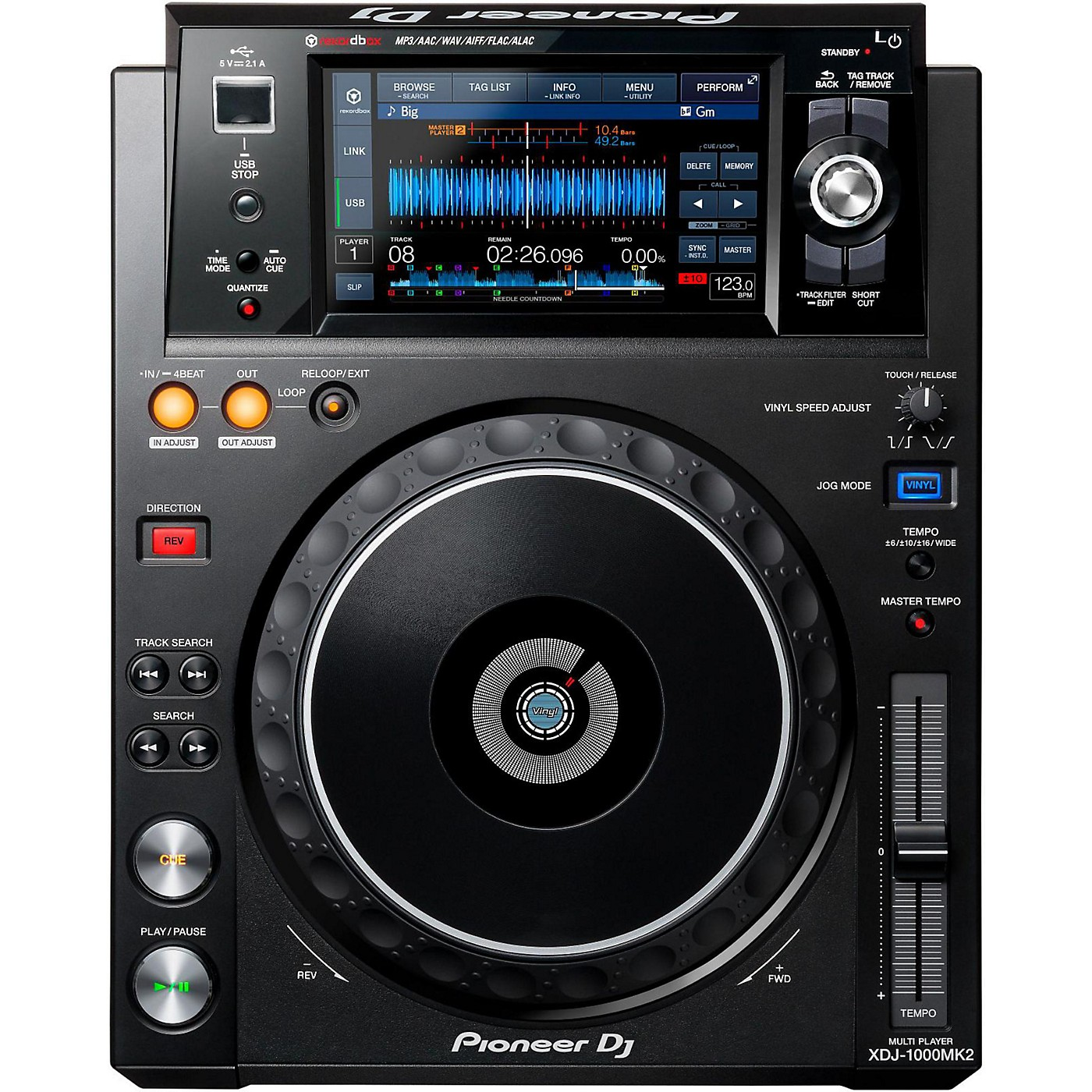 Pioneer XDJ-1000MK2 Digital Performance Multi-Player thumbnail