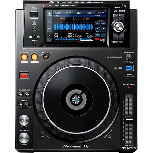 Pioneer XDJ-1000MK2 Digital Performance Multi Player thumbnail