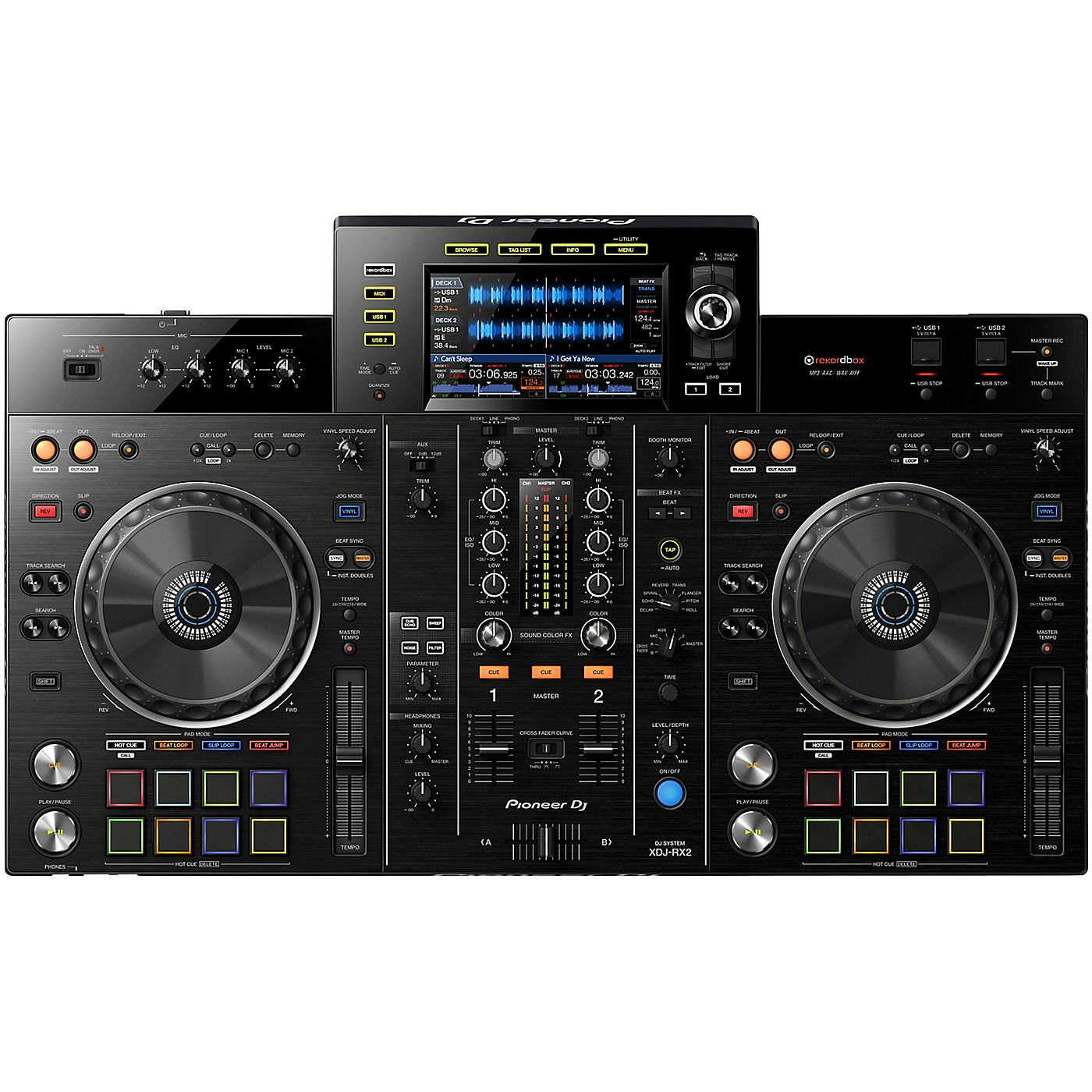Pioneer DJ XDJ-RX2 Professional DJ Controller with Touchscreen Display and Rekordbox Integration thumbnail