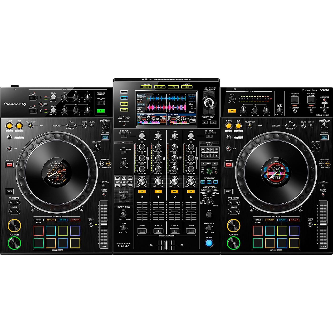 Pioneer DJ XDJ-XZ 4-Channel Standalone Controller for rekordbox dj and Serato DJ Pro thumbnail