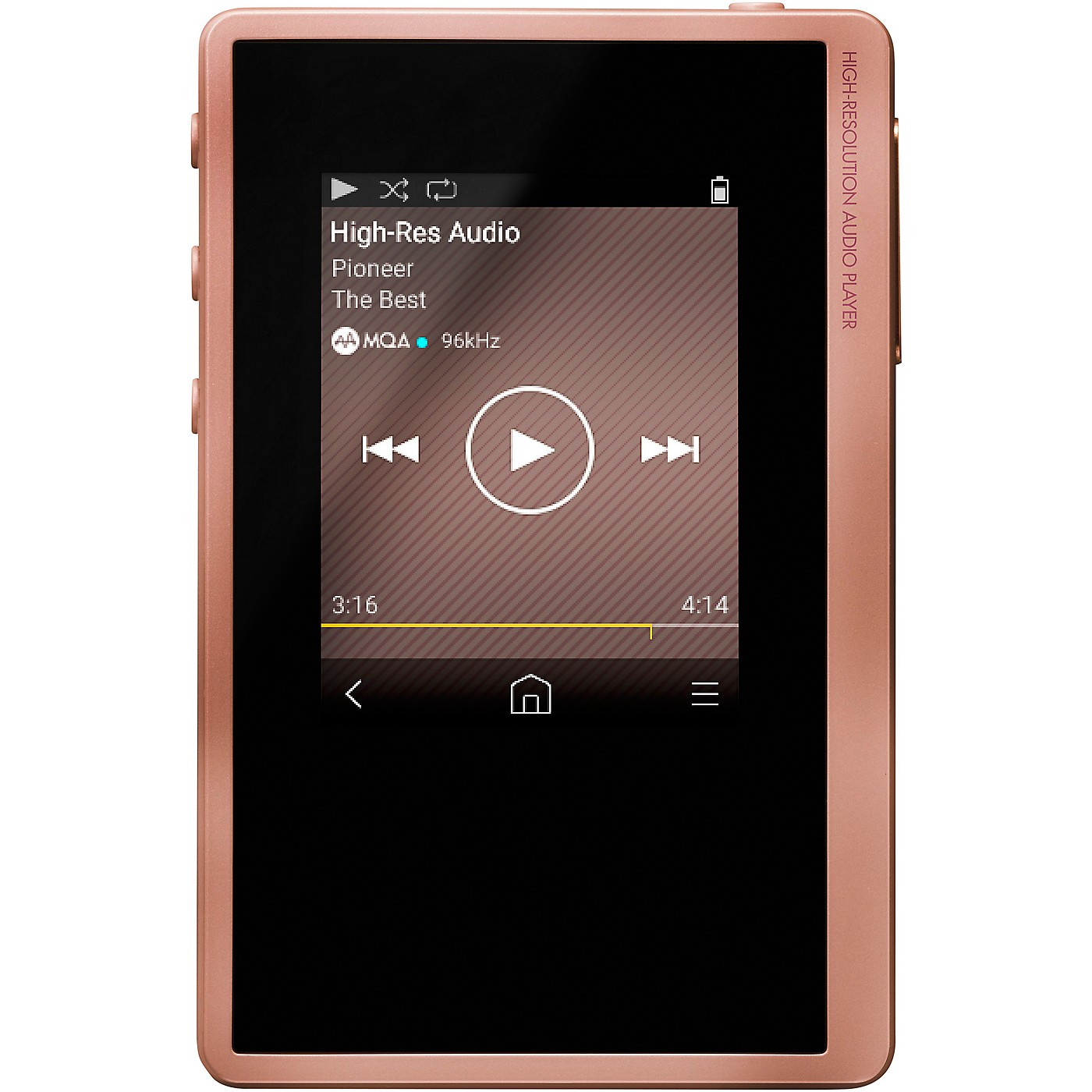 Pioneer XDP02UP Pink Digital Audio Player thumbnail