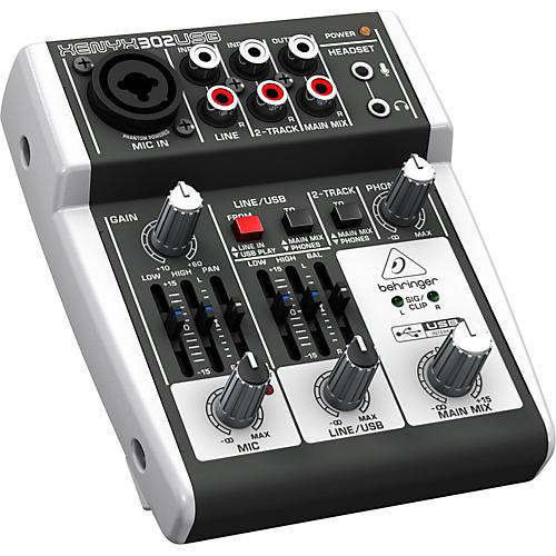 Behringer XENYX 302USB Mixer-thumbnail