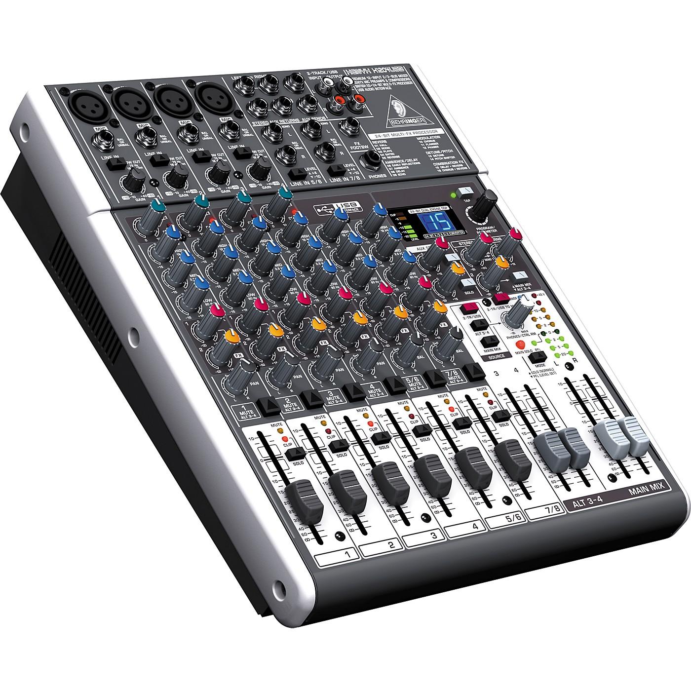 Behringer XENYX X1204USB USB Mixer with Effects thumbnail