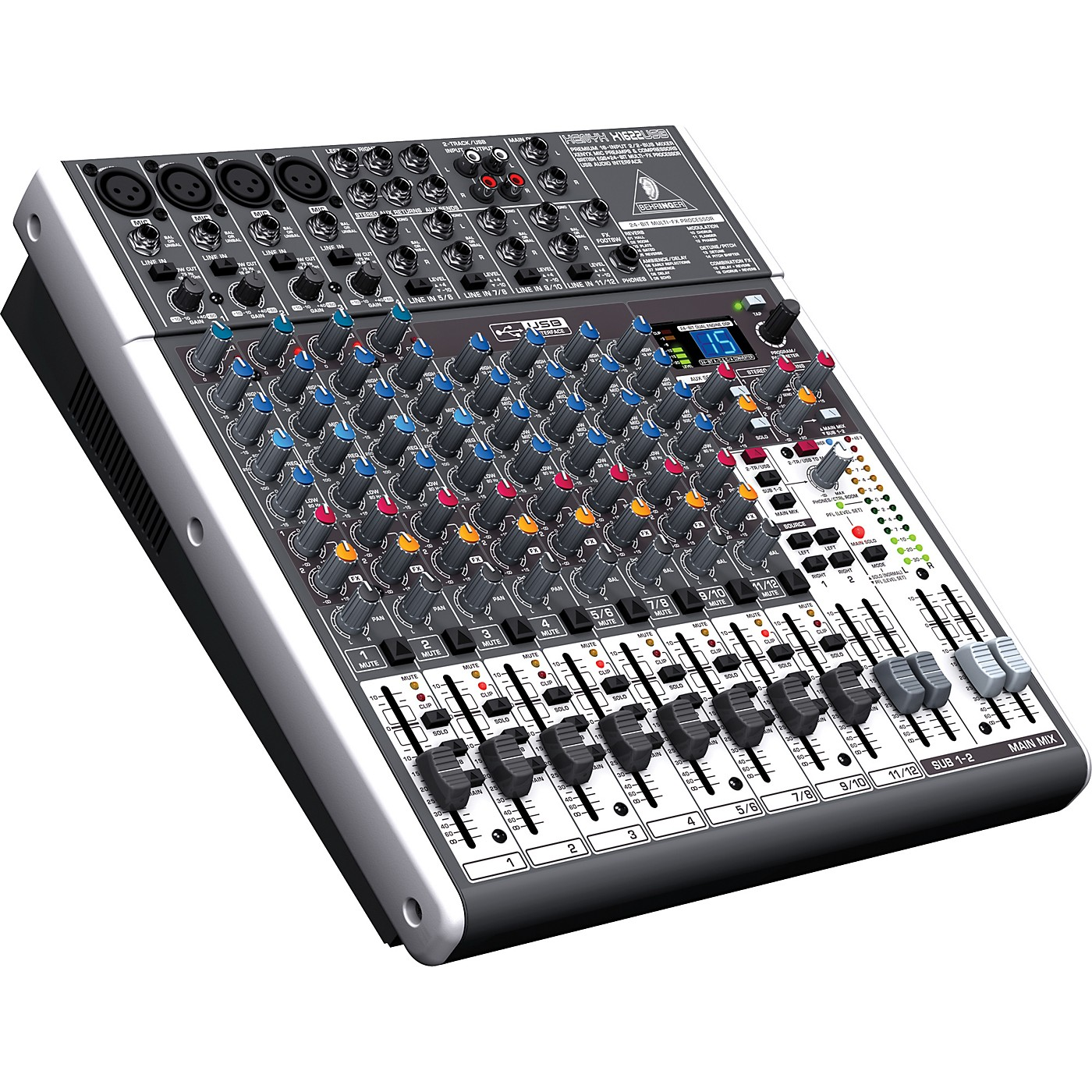 Behringer XENYX X1622USB USB Mixer with Effects thumbnail