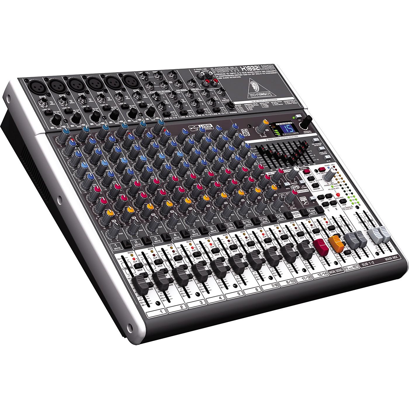 Behringer XENYX X1832USB USB Mixer with Effects thumbnail